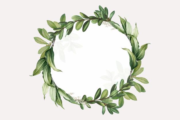 Leaf Wreath Vectors, Photos and PSD files.
