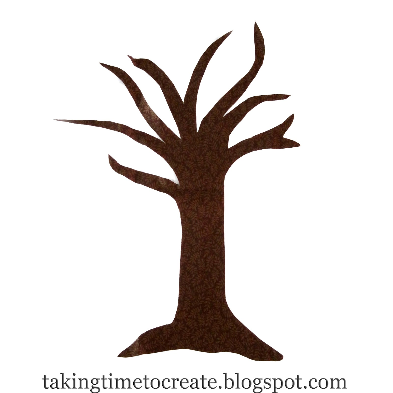 Simple bare tree clipart.