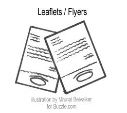 Leaflet clipart.