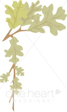 Fall Leaves Corner Clipart.