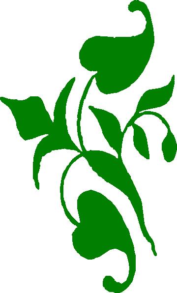 Leafy Vine Clipart.