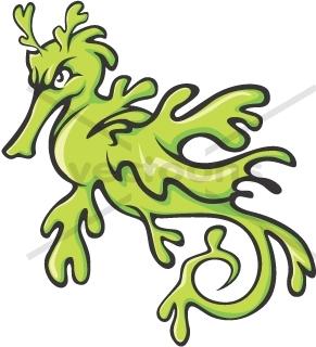 Sea Dragon Clipart.