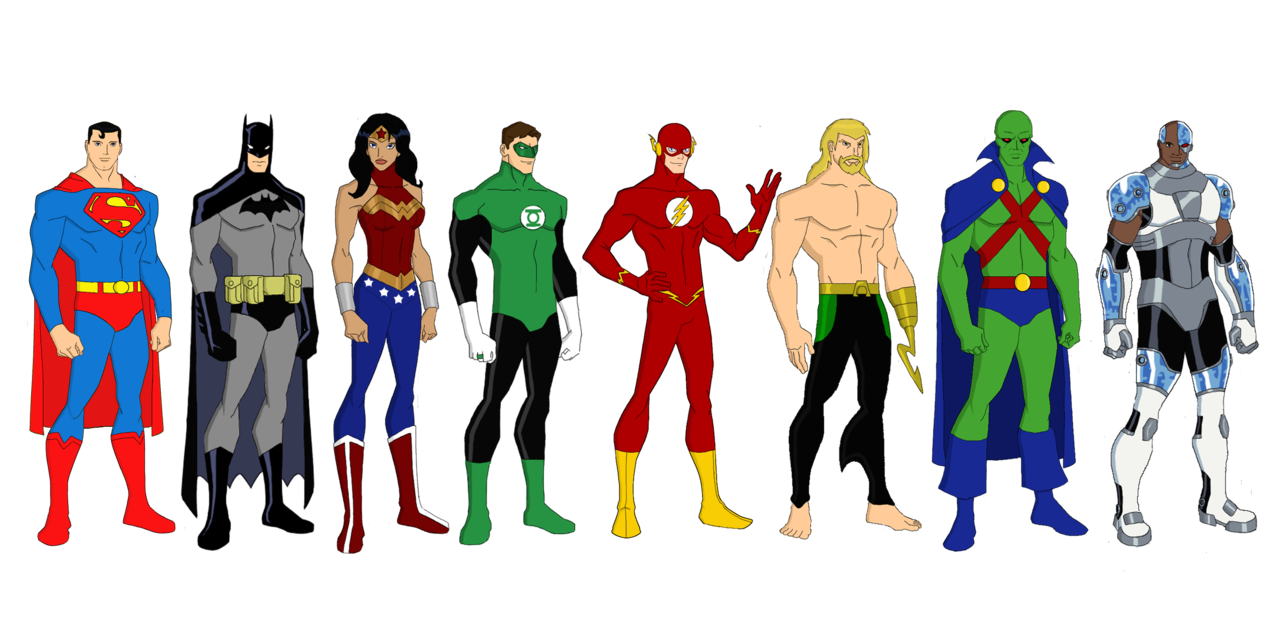 Hd justice league clipart.