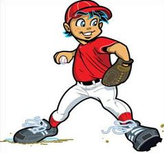 Free Little League Clipart.