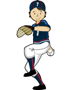 Little league baseball clipart.