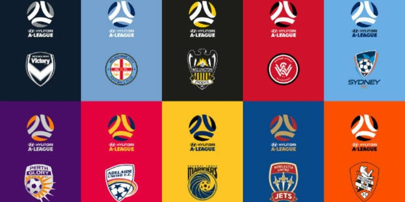 FFA reveal new brand and logos for professional leagues.
