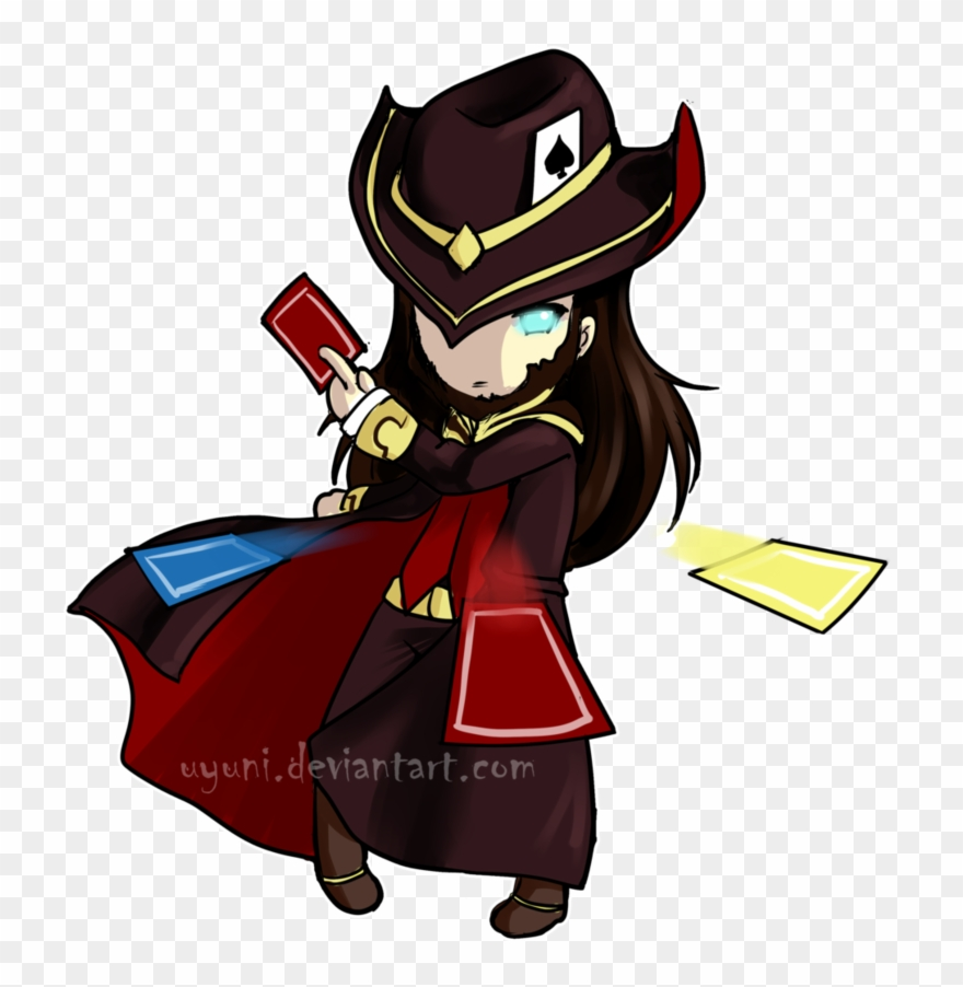 Game Clipart 19 Lol Drawing Twisted Fate Huge Freebie.