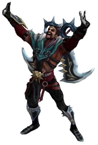 Draven From League Of Legends PNG Image.