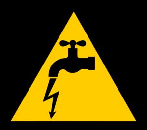Danger Electric Leakage Clip Art at Clker.com.