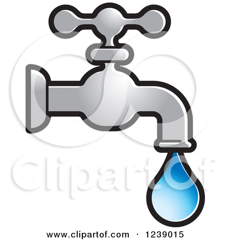 Dripping Faucet Clipart.