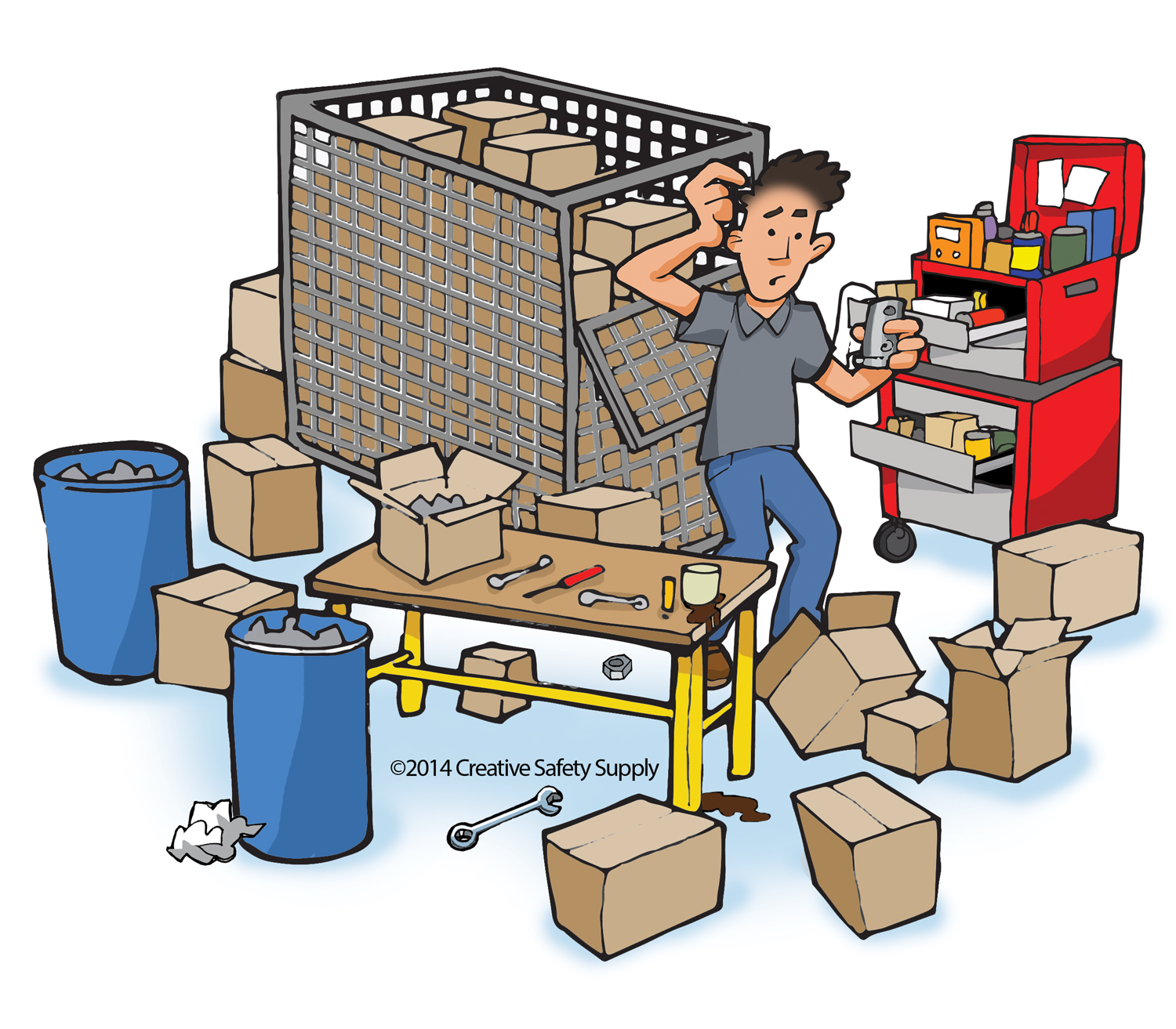 Clipart lean manufacturing.