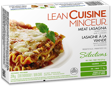 Lean Cuisine Meat Lasagna Lean Cuisine Ginger Beef.