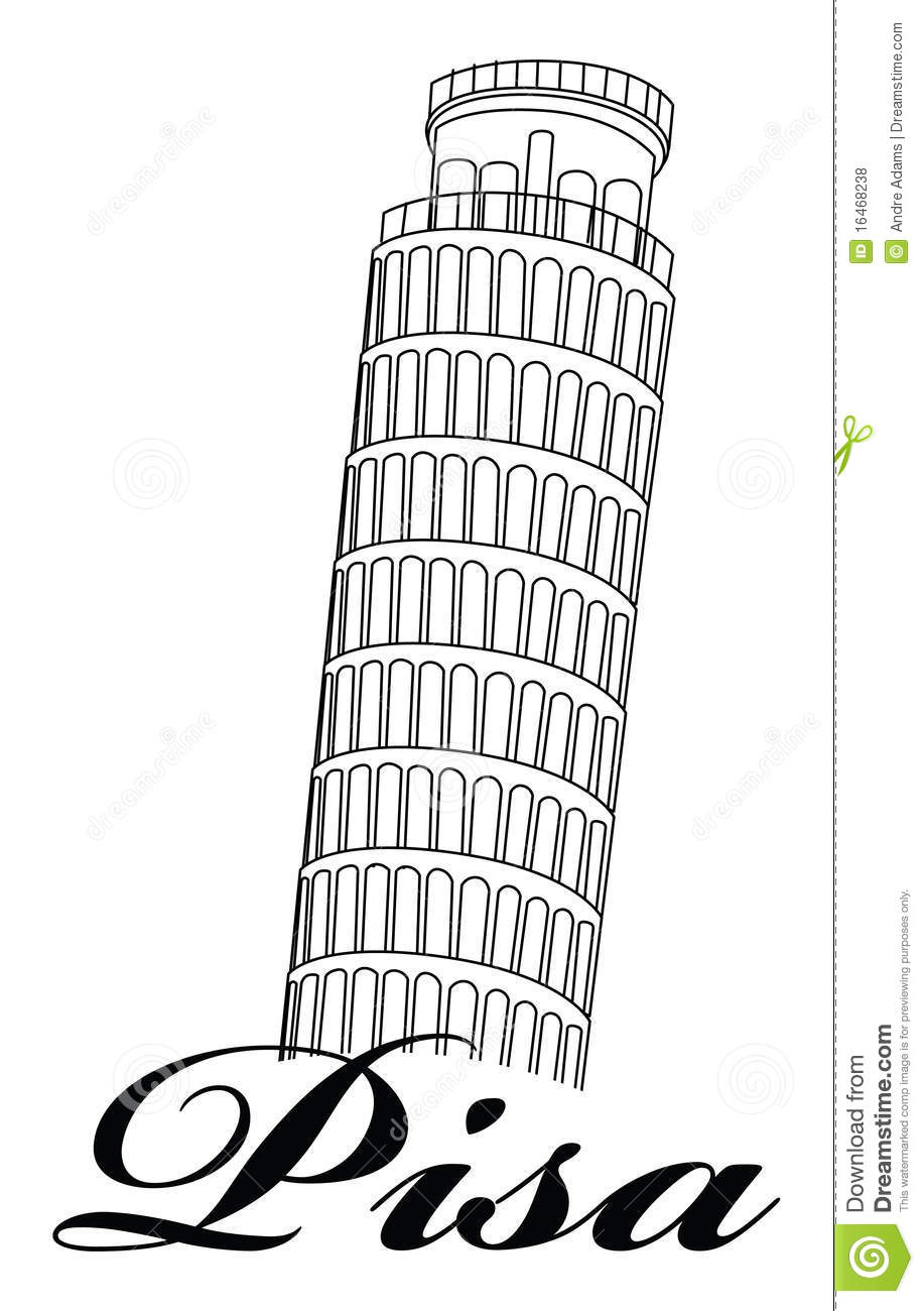 Leaning Tower Of Pisa Royalty Free Stock Photos.