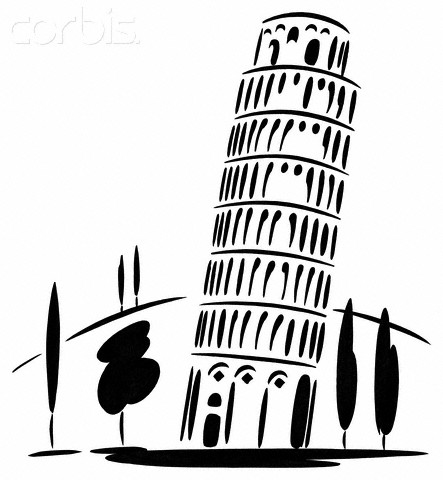 Leaning Tower Of Pisa Clipart Leaning Tower Of Pisa #A4IHTs.