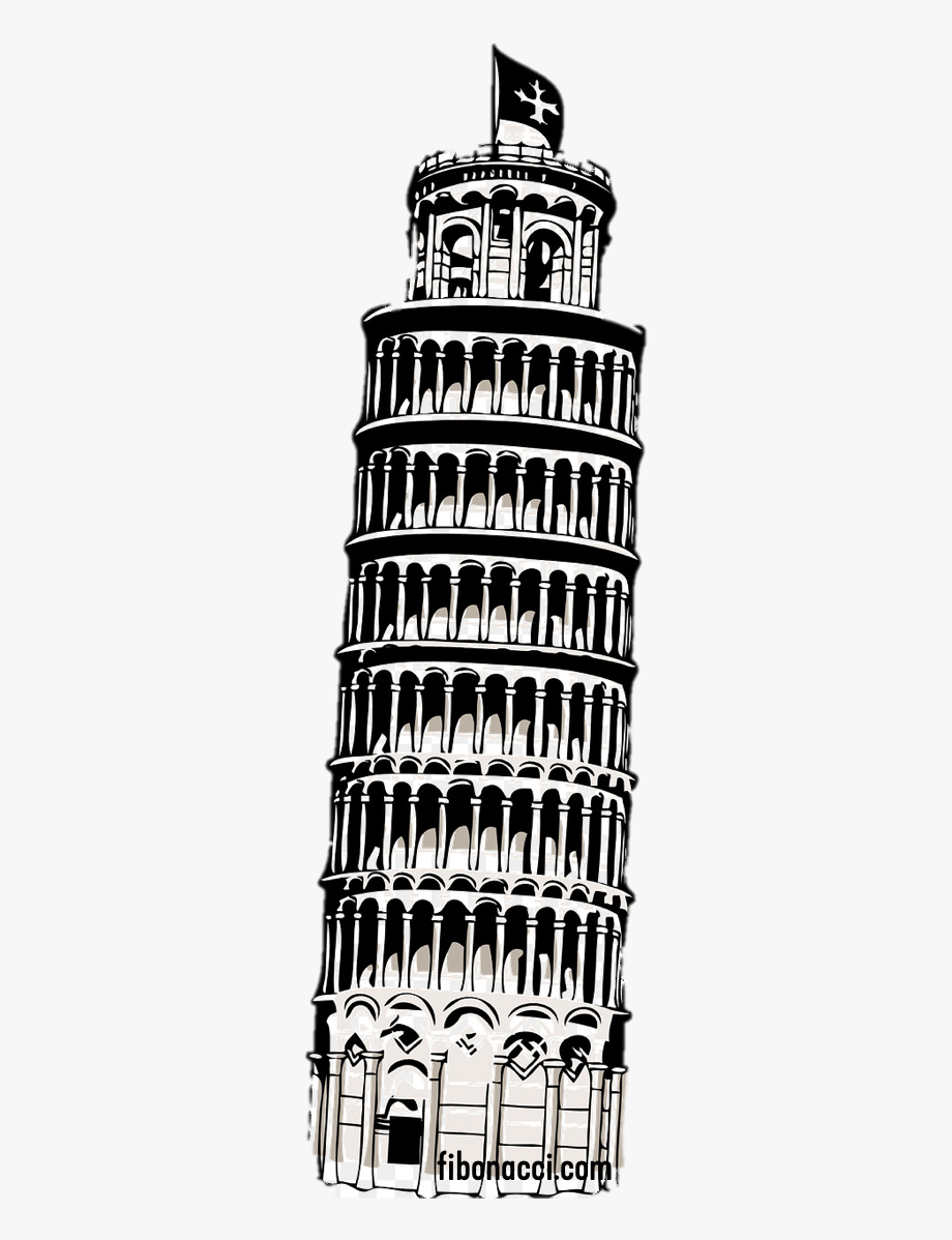 Leaning Tower Of Pisa Png , Transparent Cartoon, Free.