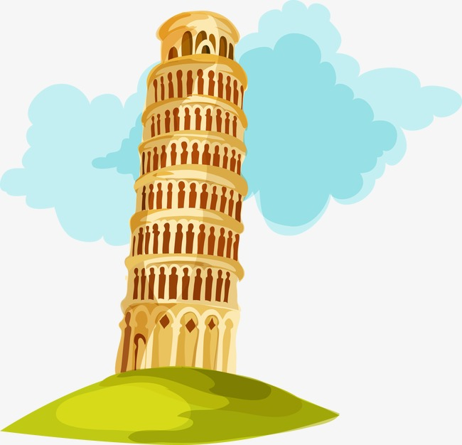 Tower Building Clipart.