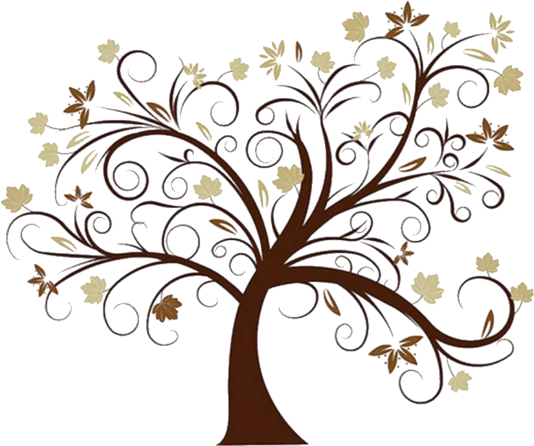 Leaning Brown Family Tree.