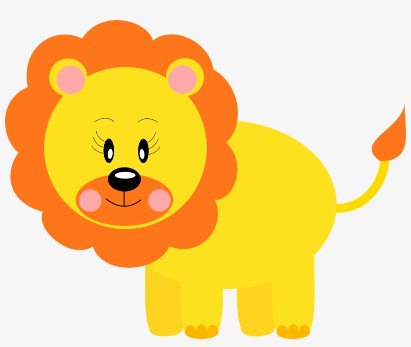 Png Free Free Printable Baby Jungle Animal Clipart.
