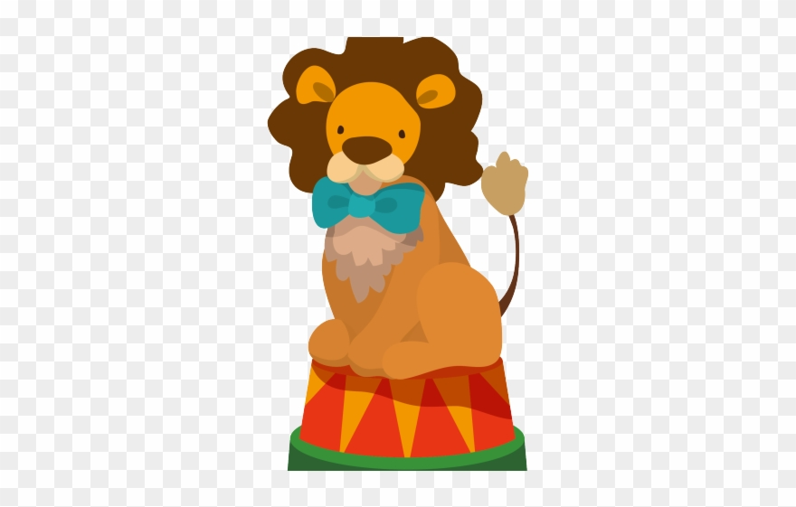 Clown Clipart Circus Lion.
