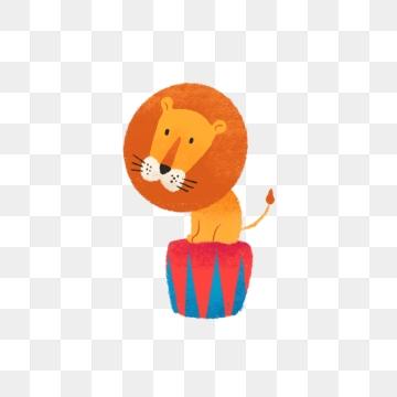 Um Leão De Circo PNG Images.