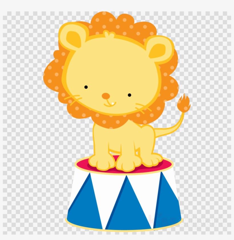 Circo Leão Clipart Lion Circus Clown.
