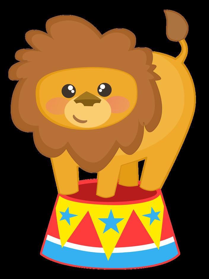 circo leão.