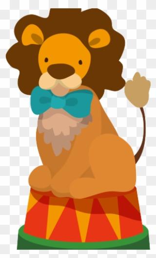 Clown Clipart Circus Lion.