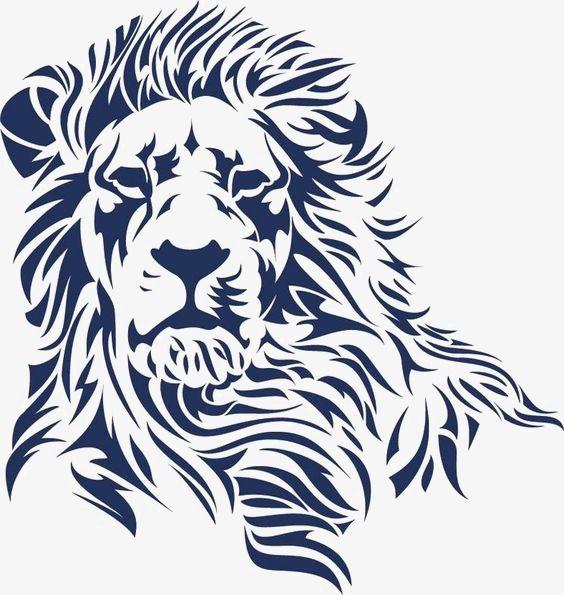 O Leão, Desenho De Leão, A Criatividade Do Leão, Leão.
