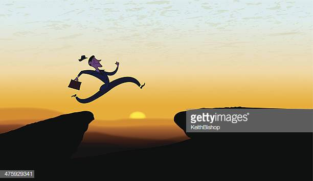 28 Leap Of Faith Stock Illustrations, Clip art, Cartoons.