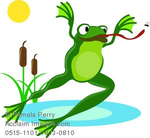 baby frog clipart Wall Painted Images.