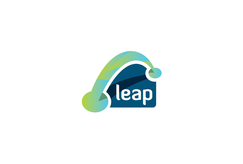 Leap Logo Design.