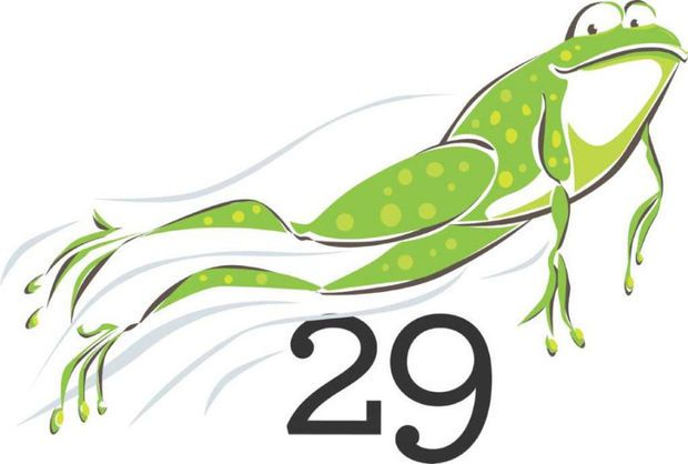 Leap Year frog.