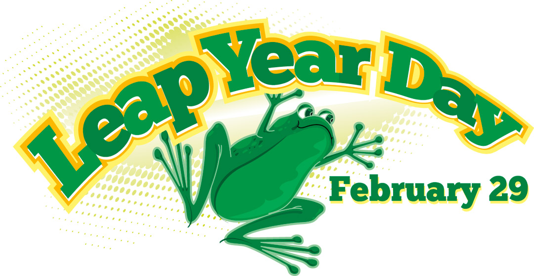 Leap year day clipart.