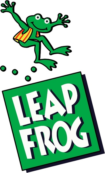 Collection of Leapfrog clipart.