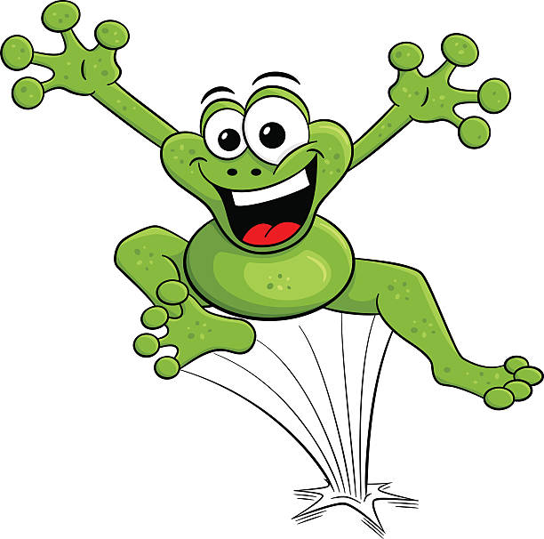 Leaping frog clipart free 7 » Clipart Station.