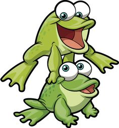 Leap frog clipart.