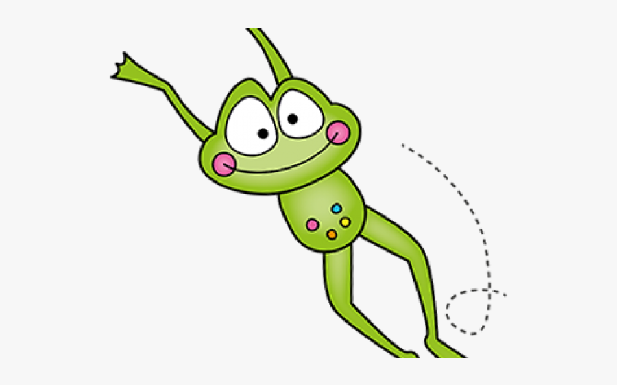 Frog Leaping Cliparts.