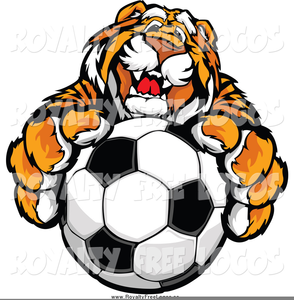 Leaping Tiger Clipart.