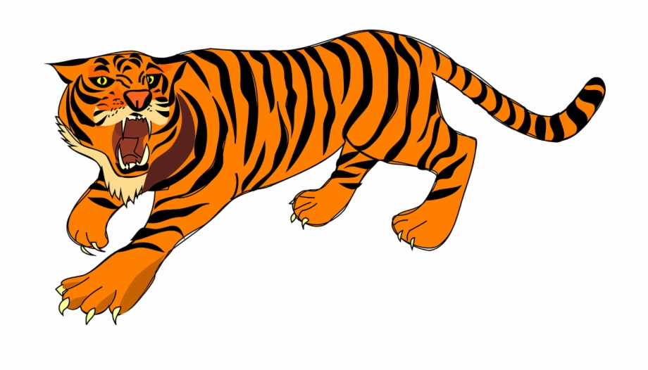 Tiger Angry Defense Stripes Png Image Tiger Clipart.