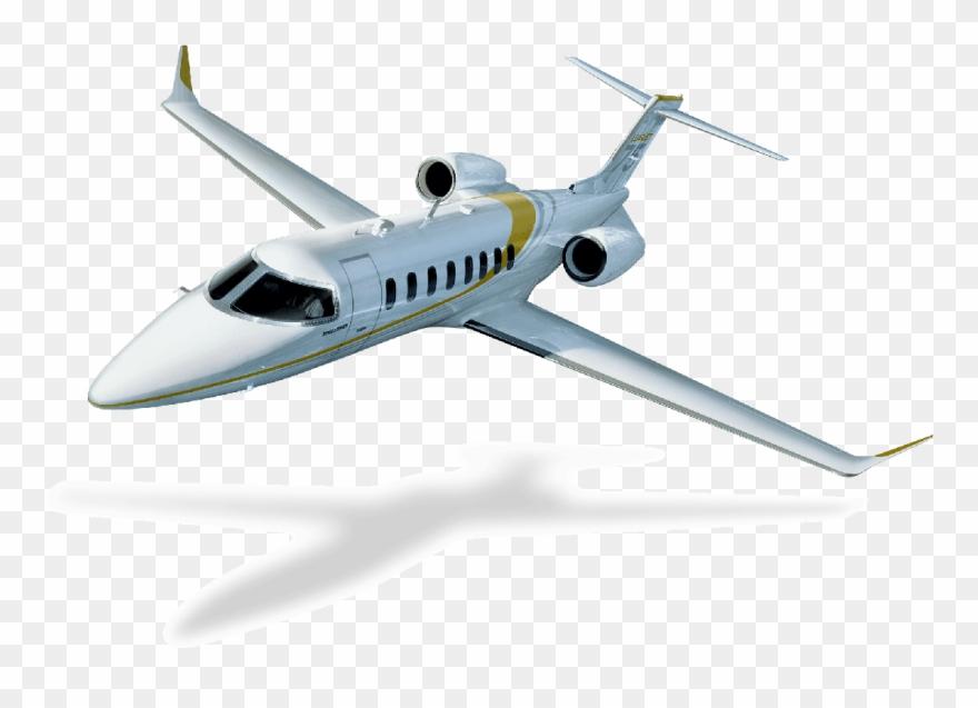 Learjet.
