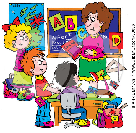 Student learn clipart.