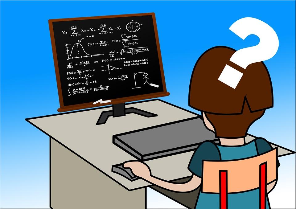 Free illustration: Learn, Girl, School, Desk.