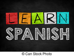 Learn spanish Illustrations and Clipart. 740 Learn spanish royalty.