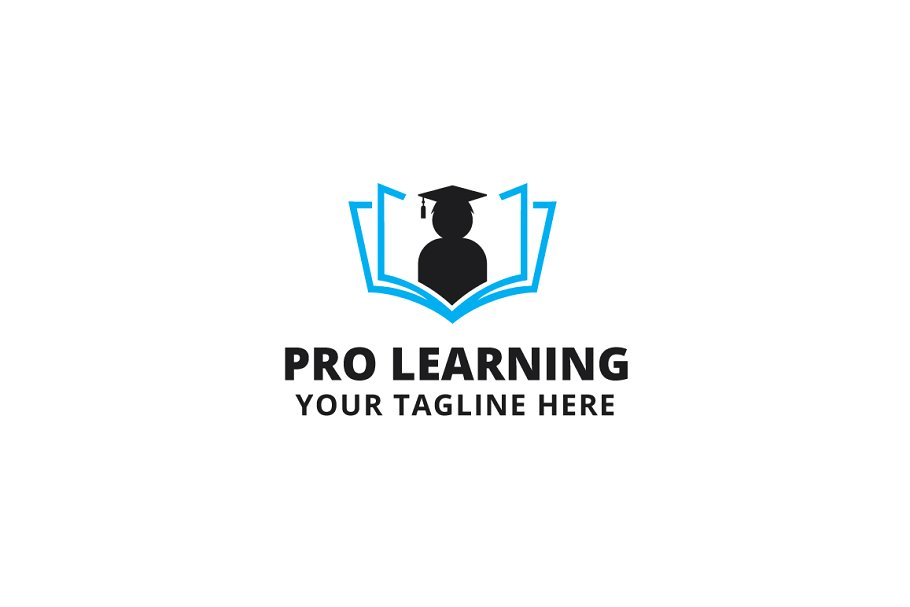 Pro Learning Logo Template.