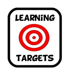 95 Best Learning Targets images in 2012.
