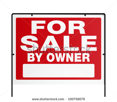 House For Sale Sign Stock Images, Royalty.