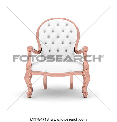 Drawing of leather armchair k11784713.
