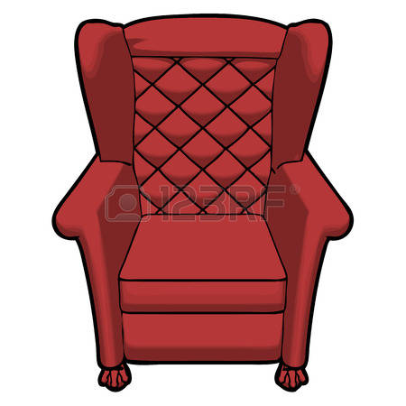 3,488 Leather Armchair Stock Vector Illustration And Royalty Free.