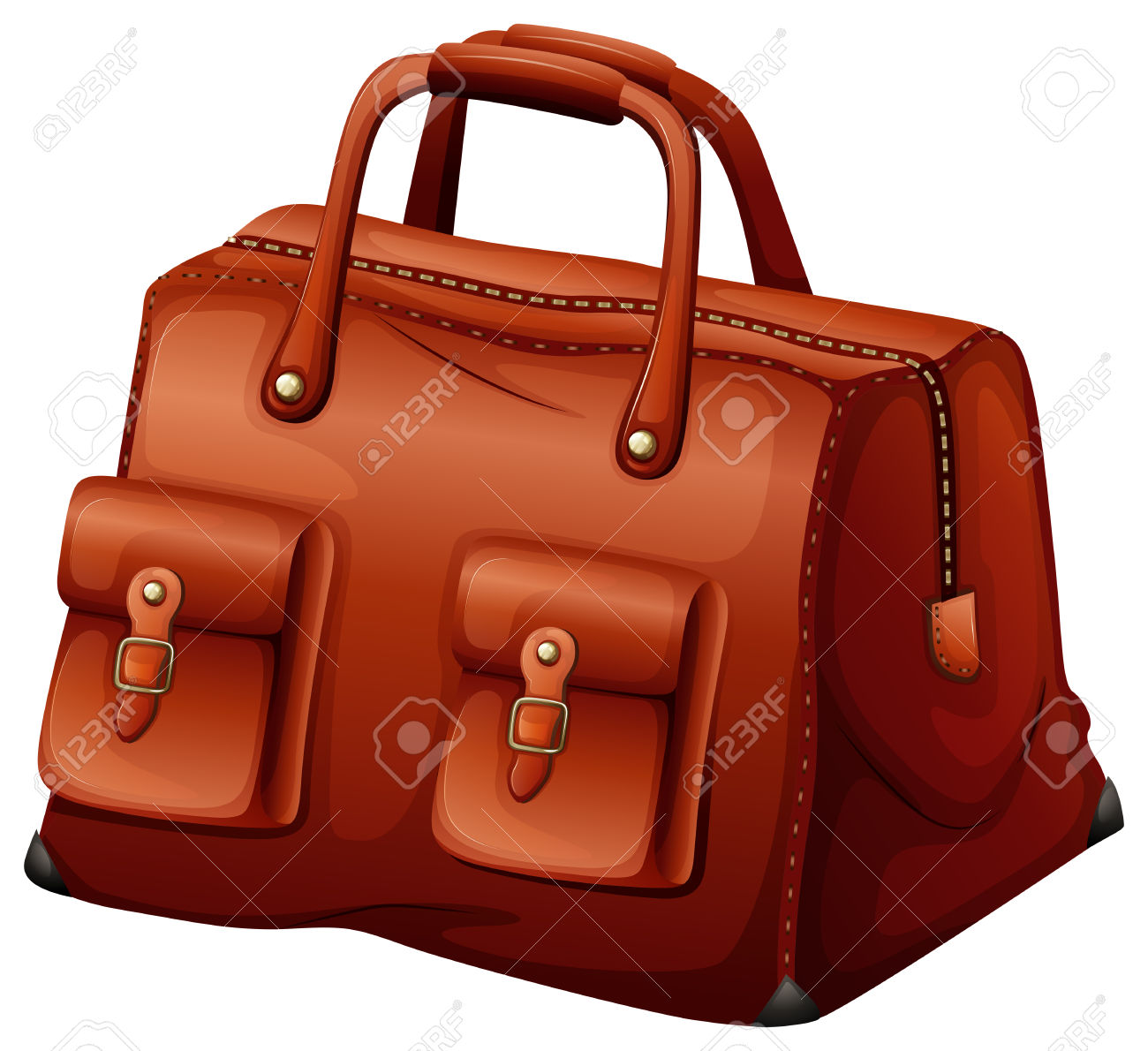 11,216 Leather Bag Stock Illustrations, Cliparts And Royalty Free.