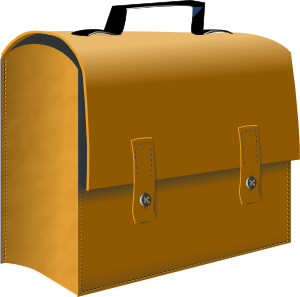 Leather Business Suitcase Clip Art at Clker.com.